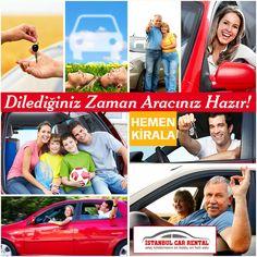 2015 Yılı Kampanyalar ile Başlıyor Ekonomik Sınıf Araçlar Haftalık 100 Euro Facebook üzerinden yapılan rezervasyonlar için geçerlidir. Hemen Kiralayın! Bize Ulaşın: +90 216 611 81 88 Whatsapp: +90 542 476 13 45 http://www.istanbulcarrental.de http://www.sabihagokcenrentacar.de