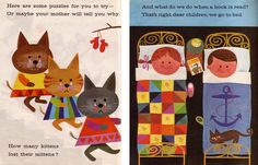 mid-century children's book illustrations