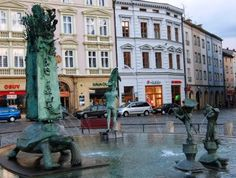 Olomouc, Moravia, Czech Republic - a lot of great information about ways to travel and the town