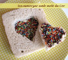 Esmorzar amb molt de cor/ breakfast with lots of heart