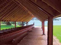 Waitangi, New Zealand Canoe, Amazing Places, New Zealand, The Good Place, Pergola, Outdoor Structures, Outdoor Decor, Home Decor, Maori