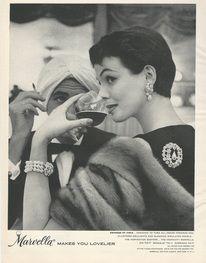 Vintage costume jewelry advertisements. - DeMarc Treasures