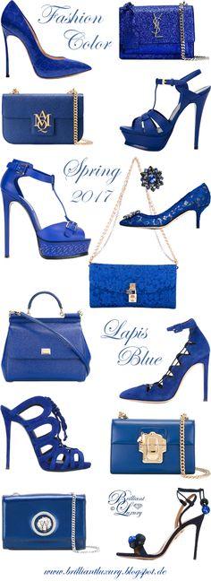 Brilliant Luxury by Emmy DE ♦ Fashion Color Spring 2017 ~ lapis blue