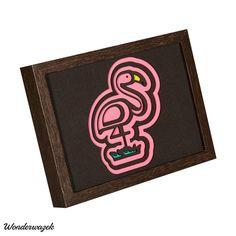 LAYER IMAGE flamingo / Flamingo | Etsy Laser Cutting, Creative, Flamingo, Layers, Card Holder, Etsy, Cards, Image, Art Types