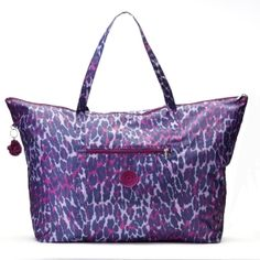 Of course I would love a pink and purple animal print!