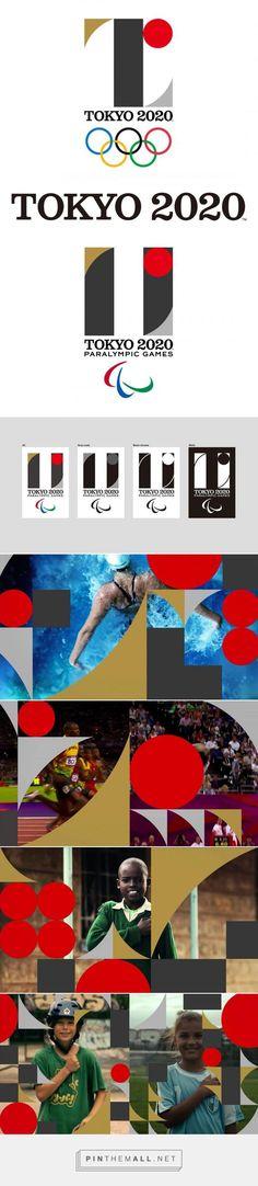 http://www.designtagebuch.de/das-logo-der-olympischen-spiele-in-tokio-2020/ - created via http://pinthemall.net Tokyo 2020, Olympic Games, Logo