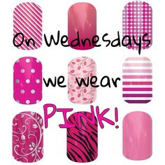 It's Wednesday..what will you wear? With #Jamberry Nail wraps, the possibilities are endless. Get yours at https://andreasnailwraps89.jamberry.com/color/Pink