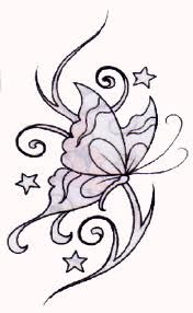 tribal butterfly tattoos for women - Google Search