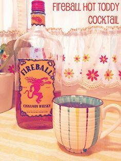 SanBriego | a San Diego Lifestyle Blog About Where to Go, What to Do, and How to Have Fun in SD!: Fireball Fridays: Hot Toddy Cocktail Recipe