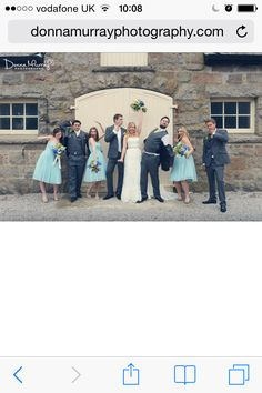 Coos cathedral, coos cathedral aboyne; fun group photo; barn wedding Scotland; Donna Murray photography