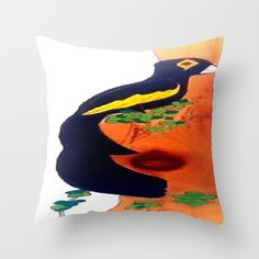 "Throw Pillow  / Indoor Cover (16"" x 16"")    Christa Bethune Smith, Cabsink09 (cabsink09)  Bird Stationary by Christa Bethune Smith, Cabsink09  	 . $20.00"