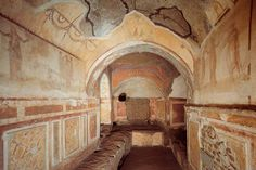 The Roman catacombs.  Didn't get to go the last time I went.  Awesomeness!