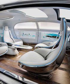 A Seriously Luxurious Self-Driving Concept Car. - Dujour