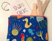 Shape Sticks - Sea Life