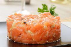 10 ideias de receitas em torno do salmão - Tartare de salmão