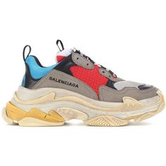 BALENCiAGA TRiPLE S SPLiT YELLOW D STOCK