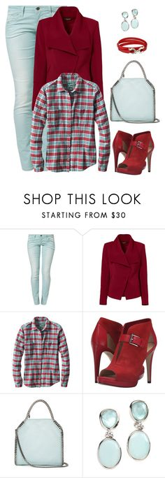 """Untitled #1183"" by gallant81 ❤ liked on Polyvore featuring Benetton, Greylin, Woolrich, MICHAEL Michael Kors, STELLA McCARTNEY, Rina Limor and Salvatore Ferragamo"