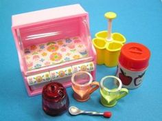 Re ment Miniature Kitchen Cup Rack Kitchen Goods Shaker Tokimeki Precious Stuff | eBay