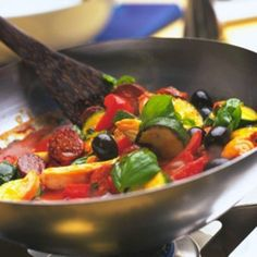 Spanish Chicken with Chorizo and Olives - Woman And Home