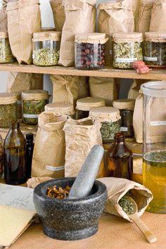 Mandragora's Garden:  #Herbs and #Mortar & #Pestle.