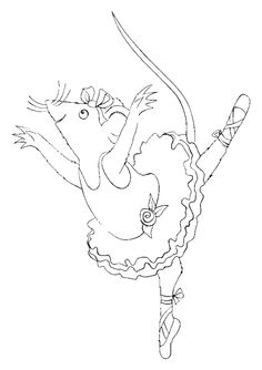angelina ballerina coloring pages free - 1000 images about angelina ballerina party on pinterest