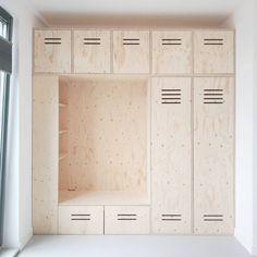 Locker Storage, Indoor, Cabinet, Wood, Kids Rooms, Furniture, Dressing, Home Decor, Instagram