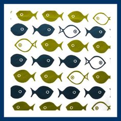 Sprout Designs, one fish two fish. (Wish it were cheaper. It would be a fun shower curtain!)