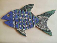Mosaic fish by Helen Disley