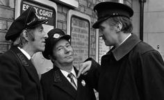 Bob grant,reg Varner,Stephen Lewis. Jack, butler,and Blakey ,from on the buses, classic British sitcom.
