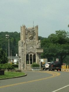 West Point - Thayer Gate (Military Police Checkpoint) in West Point, NY