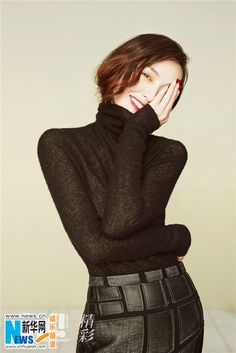 Tang Yan poses for fashion magazine Suzy, Latest Fashion Trends, Trendy Fashion, Fashion Women, Tiffany Tang Luo Jin, Jugend Mode Outfits, Chinese Actress, Beautiful Asian Women, Asian Girl
