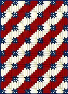 Pattern: Stars & Stripes Forever  make for Quilts of Valor