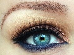 Kiss My Sparkle: EOTD #2 with Smashbox Double Exposure Palette