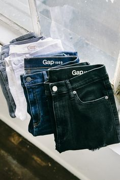 Introducing new Resolution Denim from Gap. Soft, comfortable, and perfectly shape-defining. Think of it as confidence you can wear. Shop all washes and styles from Gap.