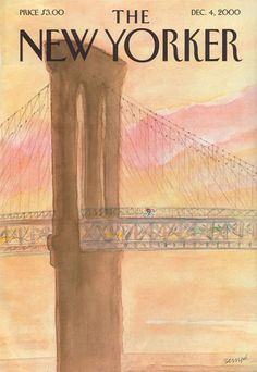 Jean-Jacques Sempé : The New Yorker cover