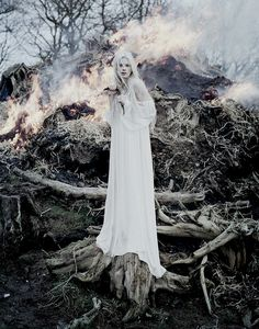 Tim Walker Photography- KRISTEN MCMENAMY NORFOLK, UK, 2013 SUNDAY TIMES STYLE