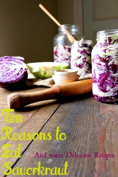 Sauerkraut and other lacto/wild fermented/cultured veggies are officially more potent than expensive probiotic supplements. The benefits of making your own sauerkraut are huge!