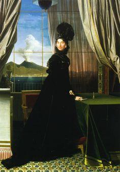 Jean-Auguste Dominique Ingres - Caroline Murat, reine de Naples