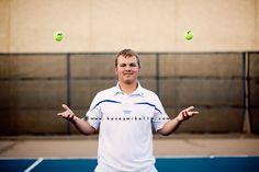 Senior Photo Shoot Tennis