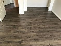Pergo Outlast+ Vintage Pewter Oak 10 mm Thick x in. Wide x in. / case) at The Home Depot - Mobile Cheap Hardwood Floors, Hardwood Floor Colors, Dark Wood Floors, Wide Plank Flooring, Stone Flooring, Flooring Ideas, Rustic Floors, Flooring Types, White Flooring