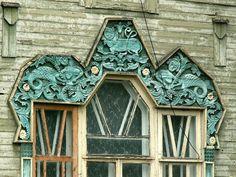 Гороховец, дом с русалками (дом Пришлецова, 1915)