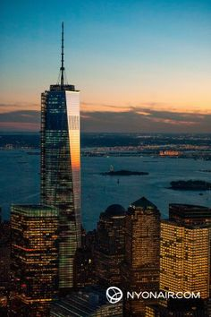 One World Trade Center Sunset