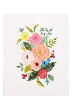 54 Ideas Wall Illustration Art Rifle Paper Co Floral Illustrations, Botanical Illustration, Illustration Art, Maps Design, Watercolor Flowers, Watercolor Paintings, Watercolour, Guache, Floral Wall Art