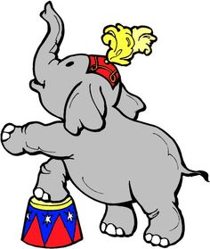 minus elefante circo mickey mouse circus pinterest rh pinterest com circus clipart for kids circus clipart black and white