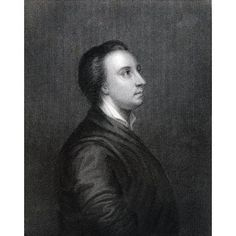 Mark Akenside 1721 To 1770 English Poet And Physician Engraved By R Woodman After Pond From The Book The National Portrait Gallery Volume Iv Published C1820 Canvas Art - Ken Welsh Design Pics (24 x 3