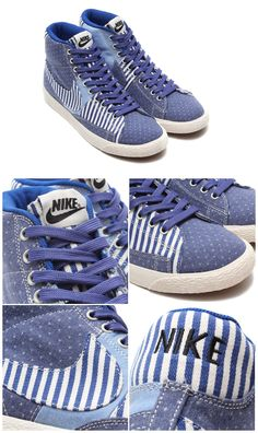 Nike Blazer Mid PRM Vintage QS: Patchwork