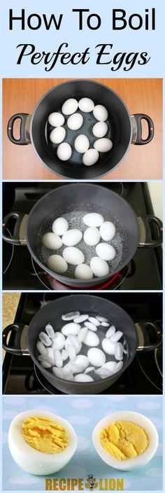 Learn how to make perfect hard boiled eggs! Great for Easter or egg salad recipes.