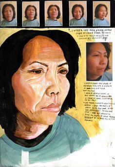 Perceptions of Identity: IB Visual Arts A Level Art Sketchbook, Sketchbook Layout, Arte Sketchbook, Sketchbook Inspiration, Sketchbook Ideas, Kunst Portfolio, Renaissance, Art Alevel, Ap Studio Art