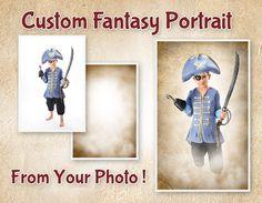 Custom Photo Manipulation, Fantasy Digital Portrait From Your Photo