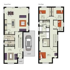 Pin by Melissa Prunty on Narrow Block House Plans | Pinterest ...